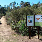 entrance to Coronado Butterfly Preserve