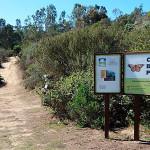 entrance to Coronado Butterfly Preserve